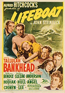 lifeboat movie poster