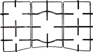 Ariston Hotpoint Indesit Kit 3 griglie in ferro smaltato nero lucido per cucina piano cottura PC750 5 fuochi - C00303486 -...