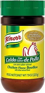 Knorr Granulated Bouillon, Chicken 7.9 oz Jar (Pack of 3)