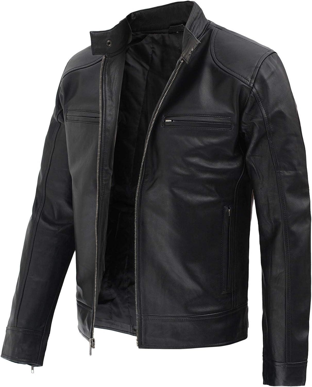 Fjackets Leather Jackets For Men - Cafe Racer & Vintage Style Jacket