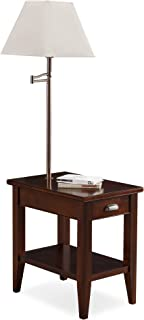 Leick Laurent Chairside lamp table