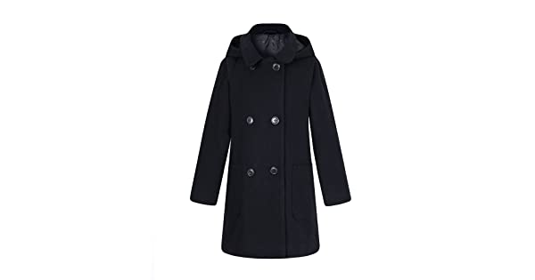 Richie House Girls Wool Double-Breasted Jacket Sizes 1-10Y RH2517