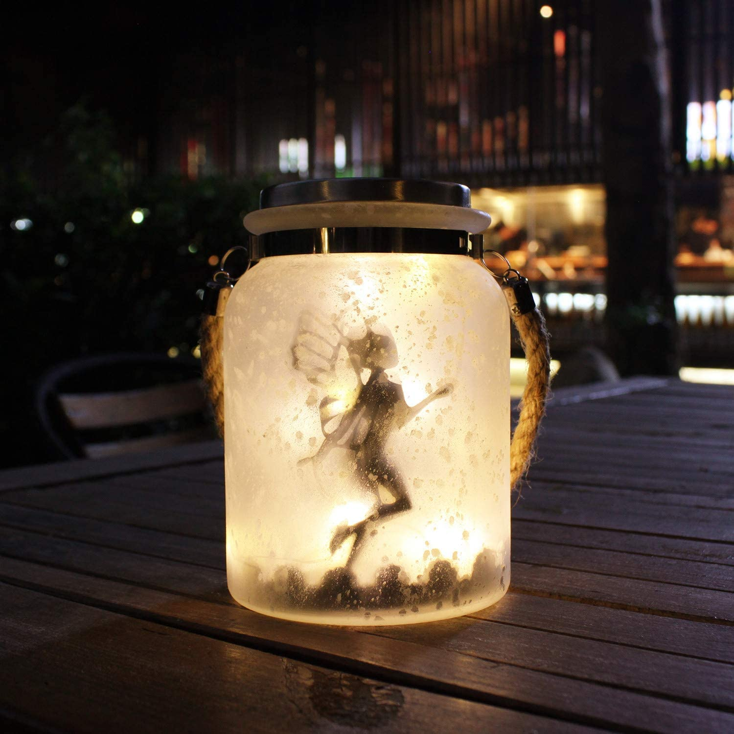 Kaixoxin Solar Lantern Be super welcome Fairy Lights Ideal Gifts Special price for a limited time Great White for