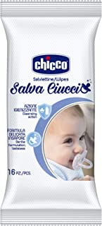 Chicco Cleansing Wipes For Soother, 16 Pieces