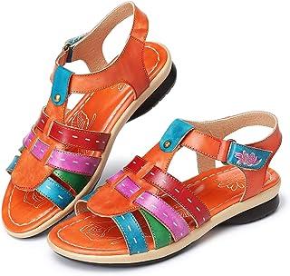 De Esnaranja Sandalias Sdrcbtqohx Vestir Amazon Mujer Para Zapatos g6IYb7vfy