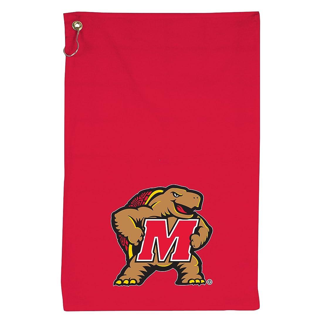 記念碑インフレーションかかわらずNCAA Maryland Terps Coloredスポーツタオル