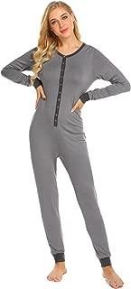 Womens's Onesies Thermal Underwears One Piece Jumpsuit Pajamas Union S-XXL