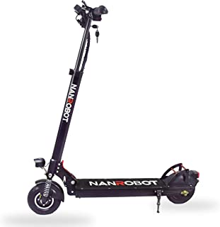 NANROBOT Electric Scooter X4 500W Motor for Adult Lightweight Foldable 25 Miles Long Range Speed 25 MPH