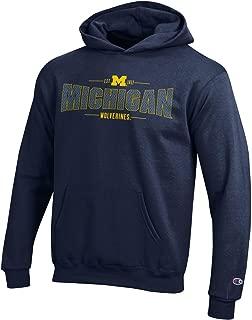 Champion NCAA Boy's NCAA Youth Long Sleeve Fleece Hoodie Boy's Collegiate Sweatshirt