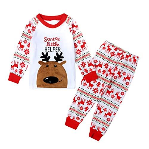 Little Hand Girls Christmas Pyjamas Set for Kids Xmas Pjs Toddler Boys  Outfit Clothes 2 Pieces 0590f2234