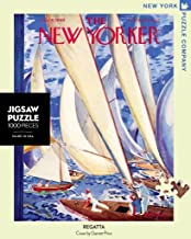 New York Puzzle Company - New Yorker Regatta - 1000 Piece Jigsaw Puzzle