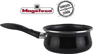 comprar comparacion Magefesa cazo 16 cm, color negro, válido inducción. Antiadherente.