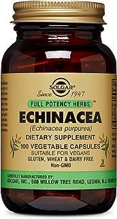Solgar Full Potency Echinacea Vegetable Capsules, 100 Count