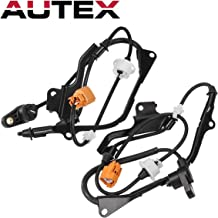 AUTEX Front Left + Front Right ABS Wheel Speed Sensor 57450-S84-A52 ALS1017 57455-S84-A52 ALS804 compatible with Honda Accord 1998 1999 2001 2002 2.3L
