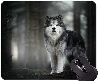 Yanteng Alfombrillas para ratón, Alfombrillas para Juegos, alfombras de ratón para Perros huskys -