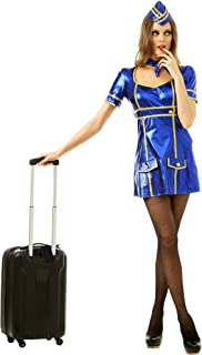Boo Inc. Sexy Flight Attendant Halloween Costume | Adult Women Airline Lady Uniform