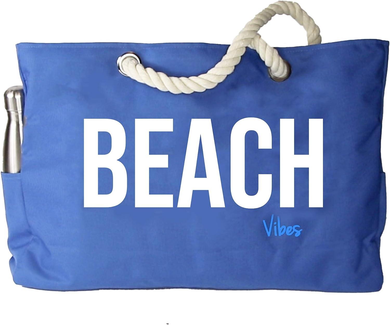XXL beach bag in wax