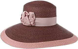 Lierys Cappello Occasione Linette Donna - Made in Italy da Sole Estivo di Paglia con Nastro Grosgrain Primavera/Estate