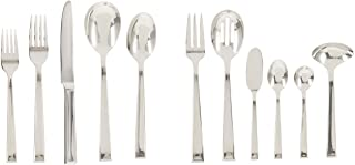 Villeroy & Boch 12-6350-9084 Victor Stainless Steel Flatware Set, 46 Pieces Silver