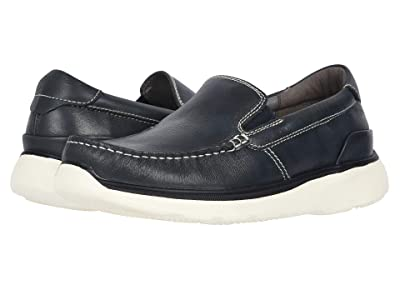 Propet Otis (Navy Full Grain Leather) Men