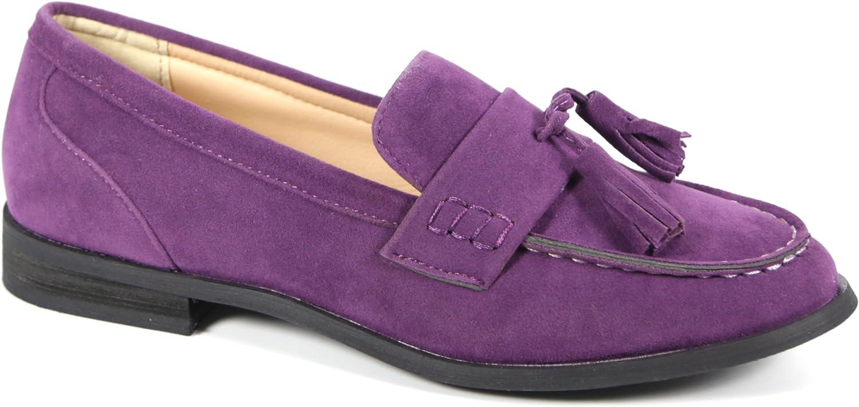 Bucco Oxee Oxee Oxee kvinnor mode Vegan läder Loafers  lägsta priserna