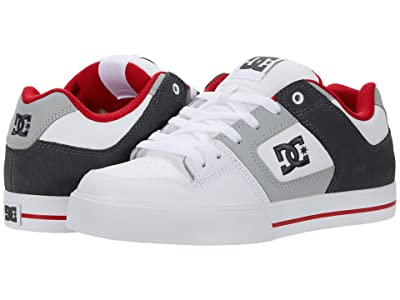 DC Pure (White/Grey/Red) Men