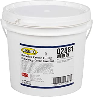 Rich's JW Allen Bavarian Creme Filling, Perfect for Pastry, 31 lb Pail