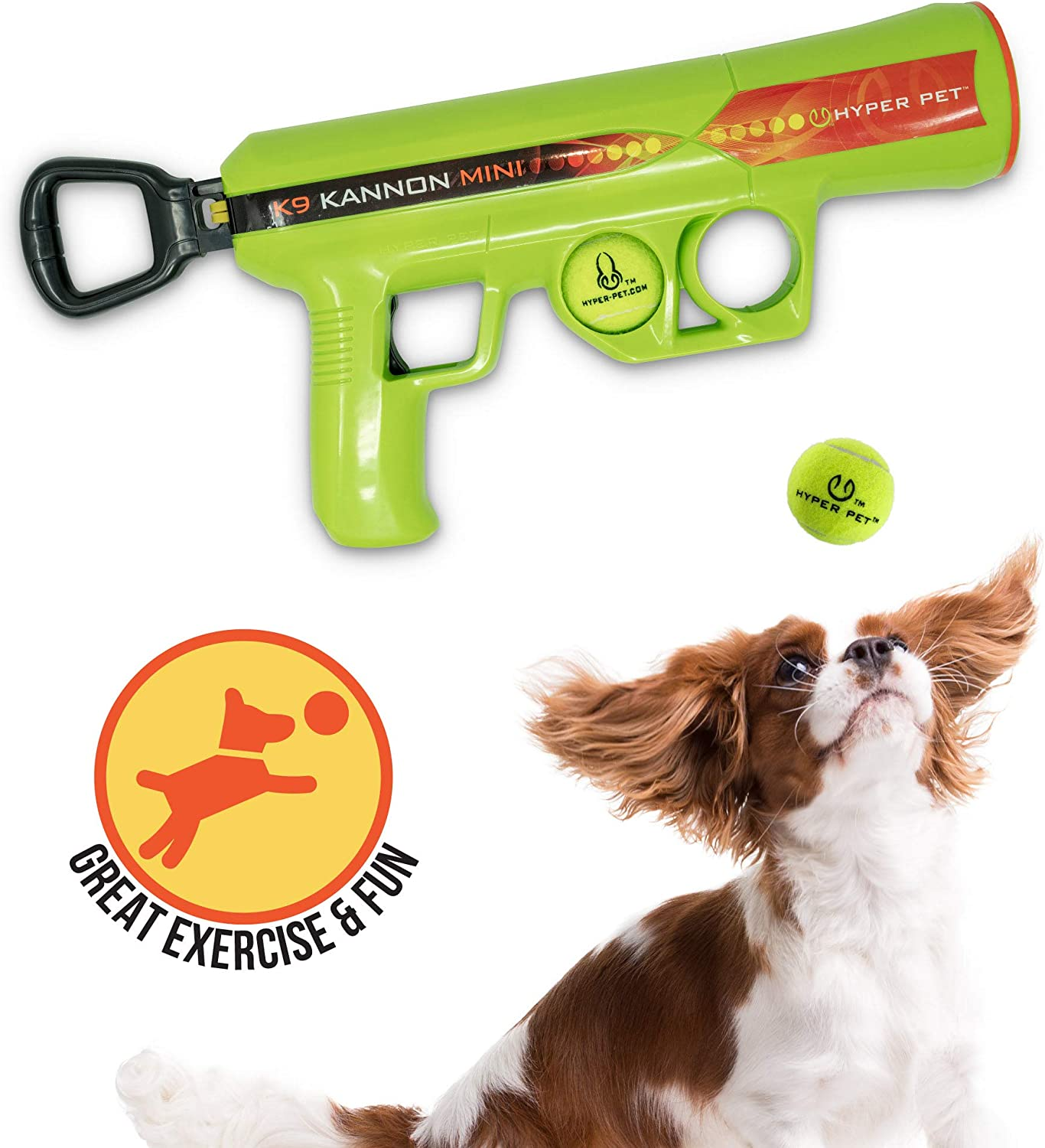 Hyper Lowest price challenge Pet K9 Kannon K2 Ball Launcher Dog Toys Load At the price of surprise Interactive