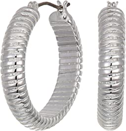 23 mm Omega Hoop Earrings