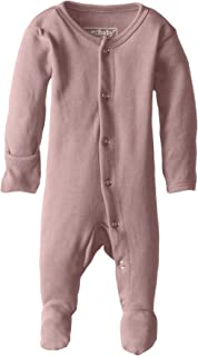 L'ovedbaby Unisex-Baby Organic Cotton Footed Overall