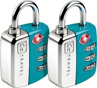 Twin Travel Sentry Lock Blue