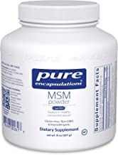 Pure Encapsulations - MSM Powder - Hypoallergenic Supplement Supports Joint, Immune, and Respiratory Health - 8 Ounces