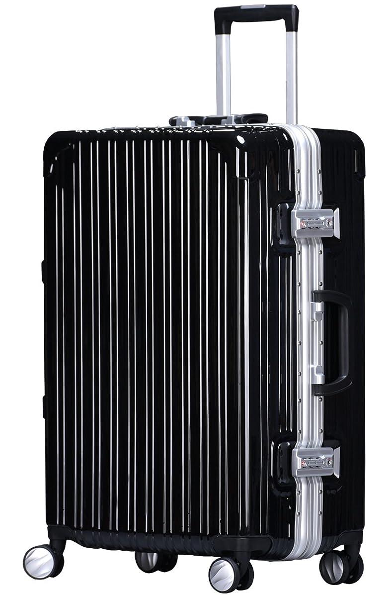回る除去ドル【ラッキーパンダ】luckypanda TY6801 スーツケース キャリーバッグ ハード フレームタイプ【1年保証】機内持ち込み 軽量 TSAロック S M L 鏡面 光沢 ダブルキャスター 8輪