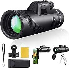 40X60 Monocular High Power Monocular Scope, Compact Cosmicscope monocular for Bird Watching Gifts Traveling Concert Sports...