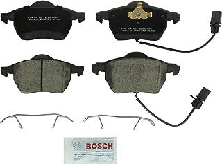 Bosch BC840 QuietCast Premium Ceramic Disc Brake Pad Set For Audi: 2000-06 A4, 2000-06 A4 Quattro, 2000-04 A6, 1998-04 A6 Quattro; Saab: 2007-09 9-5; Volkswagen: 1998-05 Passat; Front