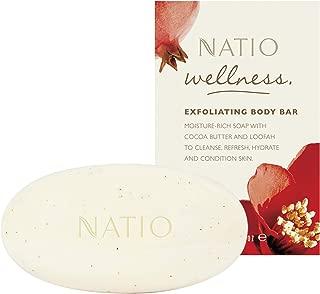 Natio Wellness Exfoliating Body Bar, 130g
