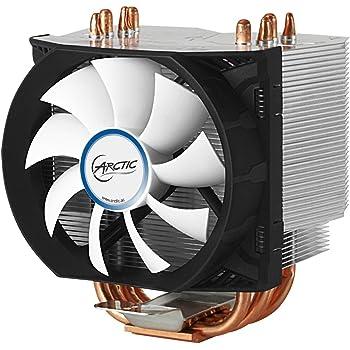 ARCTIC Freezer 13 - Radiateur Multicompatible pour Processeur de 200W Intel et AMD - Installation Facile - Pâte Thermique MX-4 Pré-appliquée Noir/Blanc