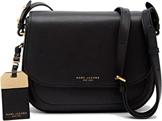 Rider Leather Crossbody Bag Black