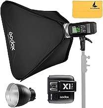 GODOX AD600BM 600Ws Bowens Mount GN87 1/8000 HSS Outdoor Flash Strobe Monolight+GODOX X1T-C TTL Wireless Transmitter for Canon EOS Series Cameras,AD-R6,80cmX80cm /32