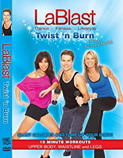"""LaBlast Level 4 DVD """"Twist 'n Burn"""