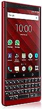 BlackBerry Key2 Dual Sim 128Gb Bbf100 6 Factory Unlocked 4G Lte Smartphone International Version Atomic Red Edition