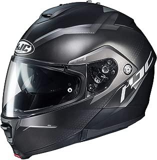 HJC is-MAX 2 Modular Helmet - Dova (Small) (Black/Silver)