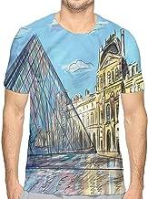 t Shirt for Men Sketchy,Grungy Effect Wild Wolfs Custom t Shirt