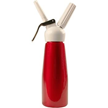 Mosa TW Whipped Cream Dispenser, 500ml, Red