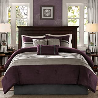 Best black silver and purple bedding Reviews