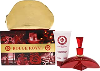 Rouge Royale Gift Set by Princesse Marina De Bourbon Fragrance for Womenmloral Fruity Scent With Notes Of Strawberry Lime ...