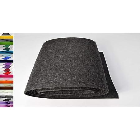 Stoffbook Feutrine 2mm B498 Largeur 180cm Tissu de d/écoration Bricolage Habillement Beige