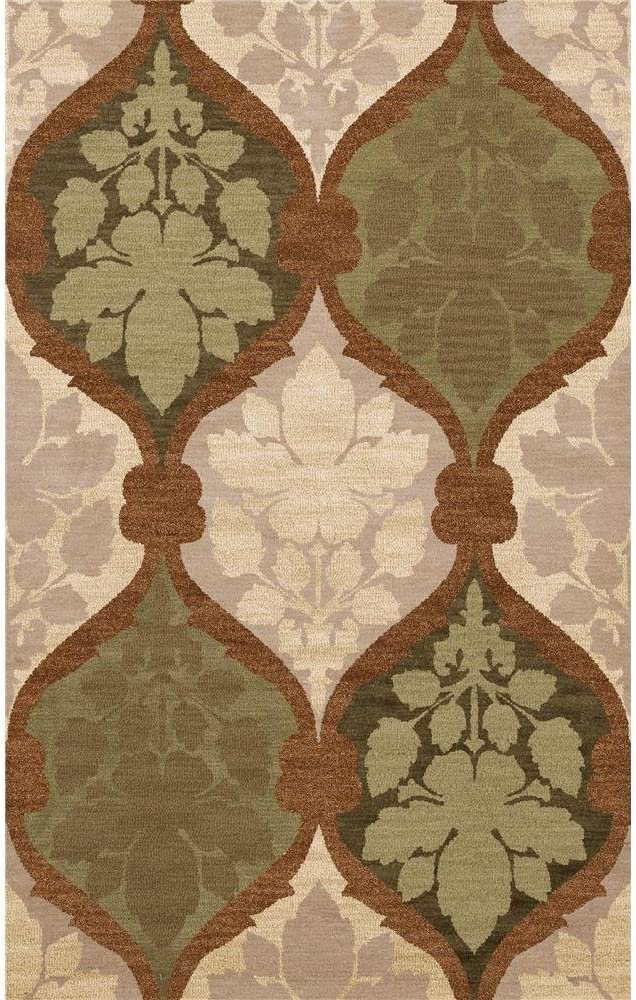 Dalyn Rugs Bella outlet BL4 9X12 Beige Don't miss the campaign Green Caramel Ivory