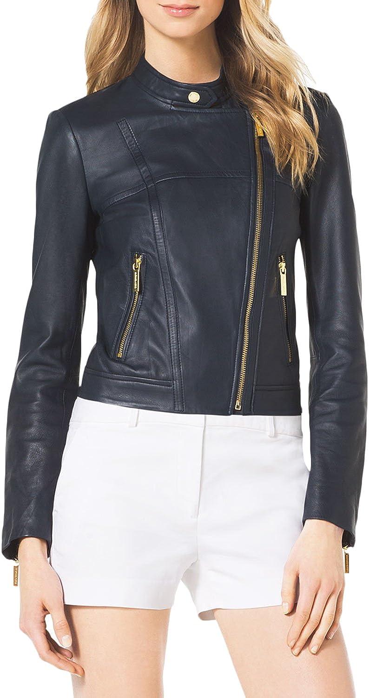 Women Leather Jacket Coat Genuine Lambskin Pure Leather Bomber Biker Jacket LTN457