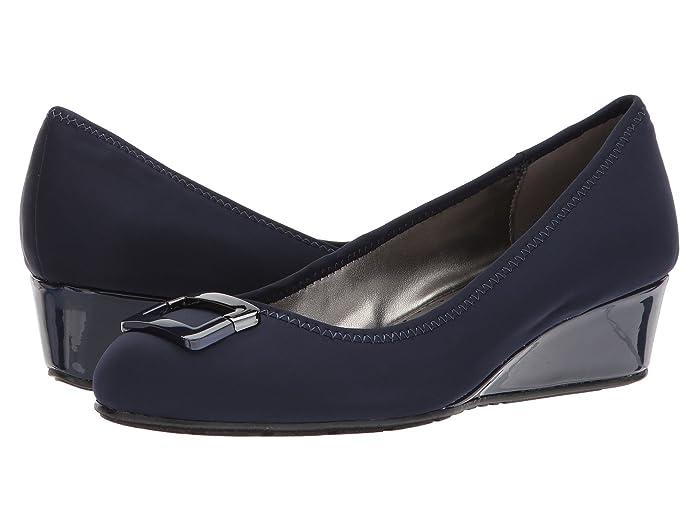 Bandolino  Tad (Navy Lycra) Womens Sandals